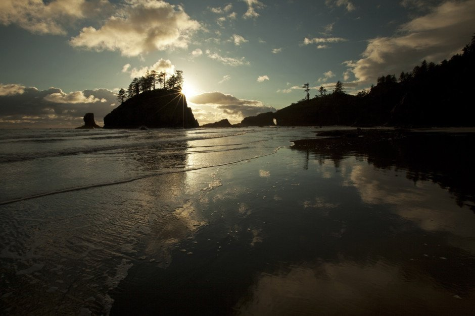 Second Beach, Olympic National Park, Washington