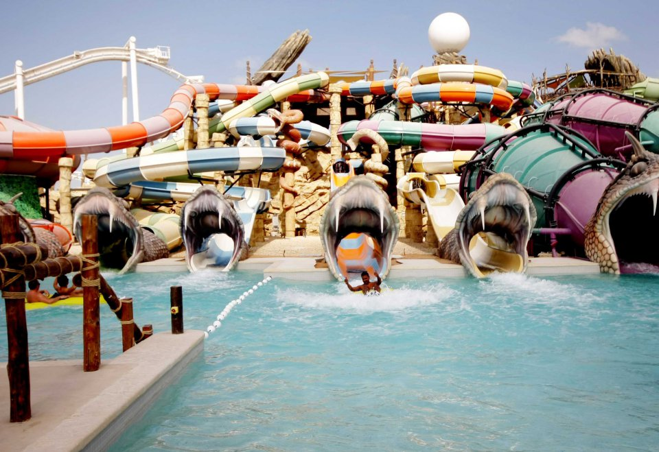 6. Le Yas Waterworld
