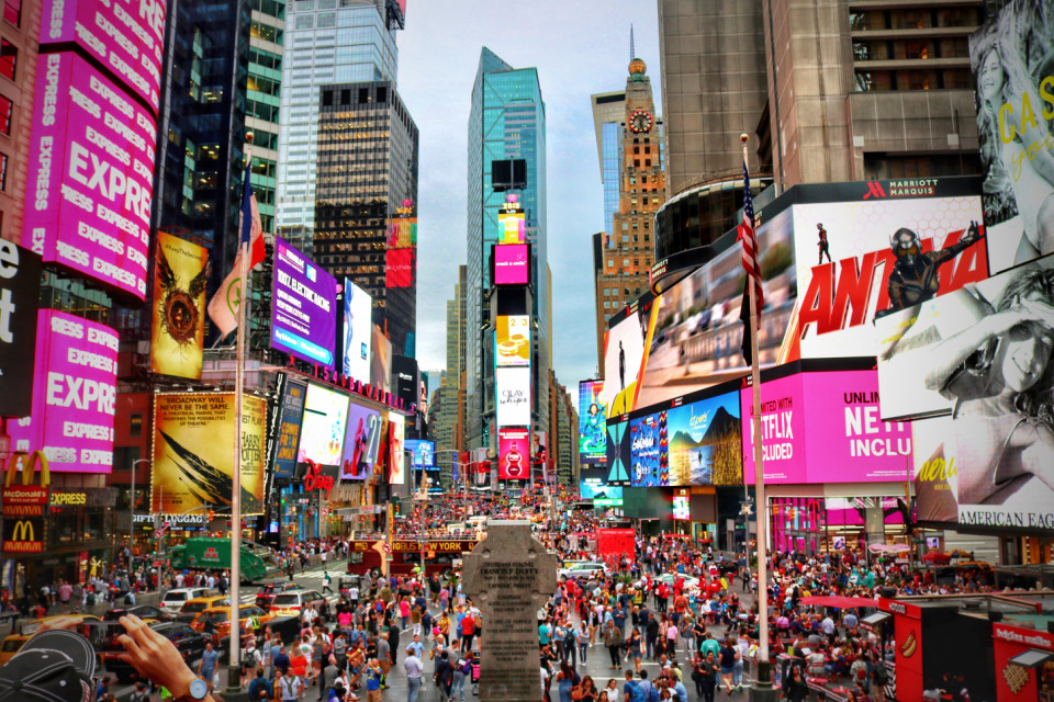 8. Times Square, New York