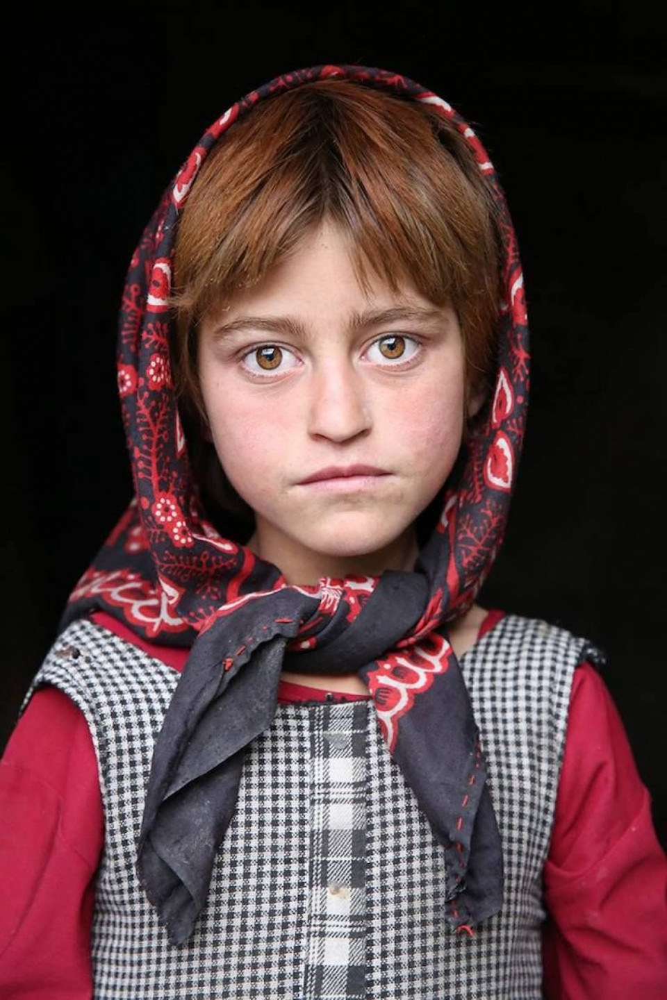 Une jeune fille Wakhan, Afghanistan