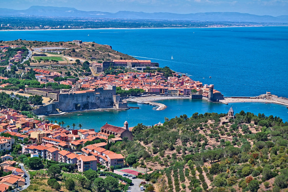 JOUR 1 : Collioure, l'un des plus beaux villages de France