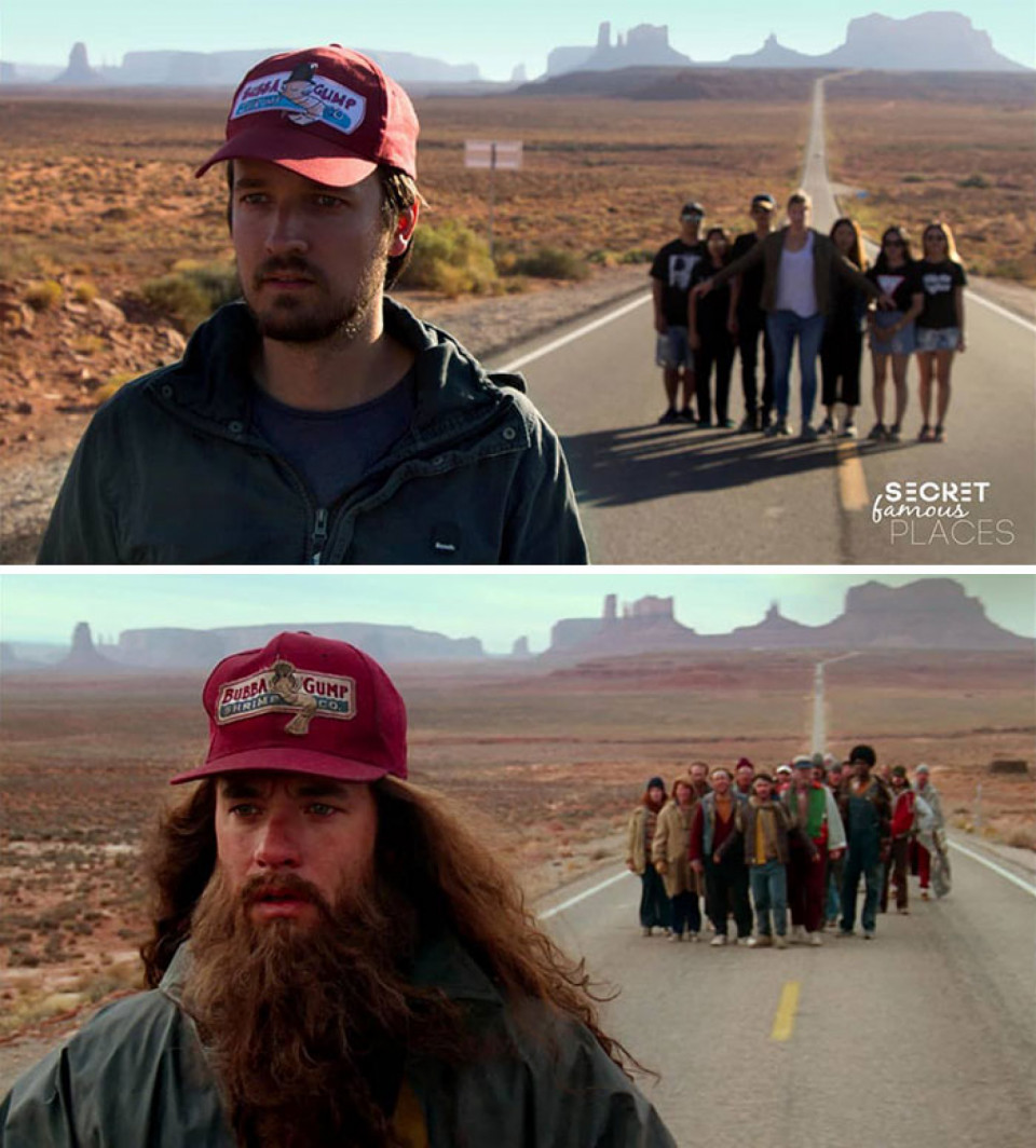 #1 Forrest Gump / Monument Valley, USA