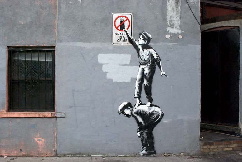 Source : http://www.design-party.com // Artiste : Banksy