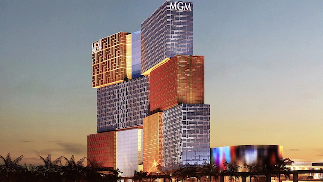 MGM Cotai, Macau Architect.