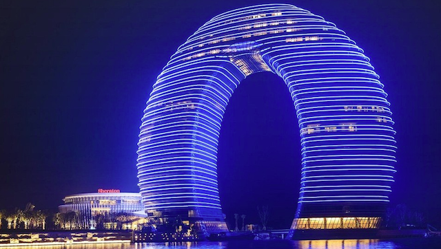 Sheraton Huzhou Hot Spring Resort, Huzhou.