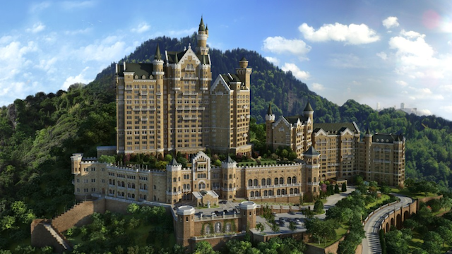 The Castle Hotel, A Luxury Collection Hotel, Dalian Architect.